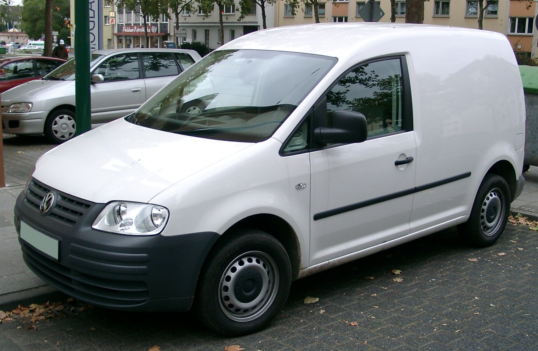 VW Caddy front 20071026
